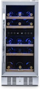 "Best 15"" Dual Zone Under Counter Wine Cooler"