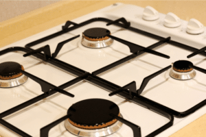how to clean gas burners